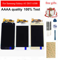 4.5 A300F LCD Touch Screen Digitizer Assembly For Samsung Galaxy A3 2015 Display A300 A300X A300H A300FN Display LCD