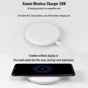 Image 2 - origianl Xiaomi Wireless Charger 20W ( Fast wireless flash charging / independent silent fan / with Qi charging standard