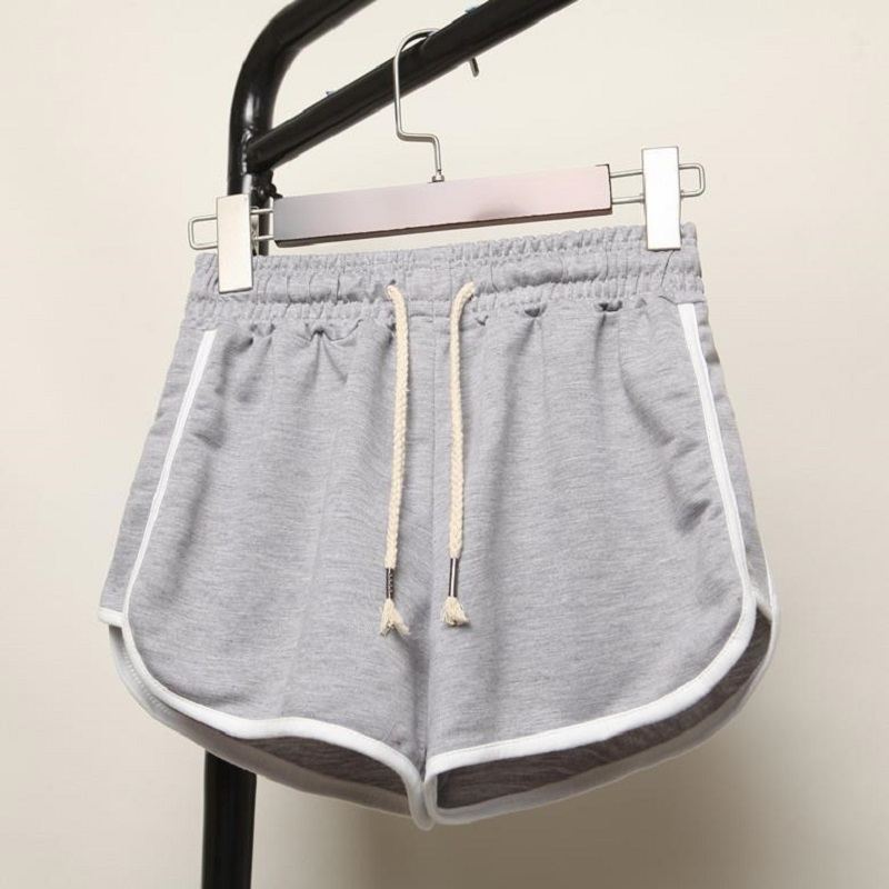 Casual Summer Short Women High Waists Shorts For Ladies Fashion Cute Sexy Girl Gray Shorts For Femme Cool Short S-3XL