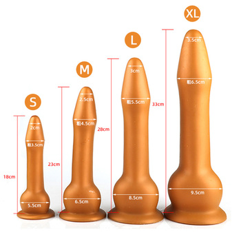 Soft Huge Dildo Realistic Long Artificial Penis with Suction Cup Sex Toys for Woman Vagina Stimulator Big Anal Dildo Silicone