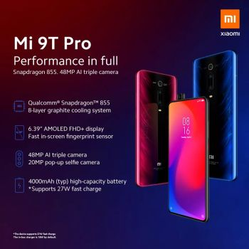 In Stock Global Version Xiaomi Mi 9T Pro 9 T (Redmi K20 Pro) 6GB 128GB Snapdragon 855 Smartphone 48MP Triple Cameras 4000mAh NFC 1