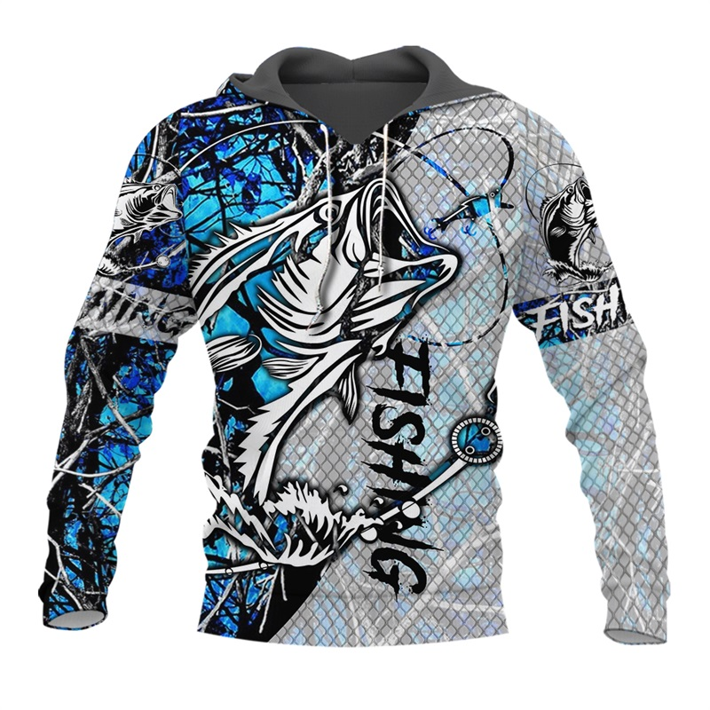 PLstar Cosmos New Fisherman Fisher Fishing Art Harajuku Casual Tracksuit Funny 3D Print Hoodies/pullover/Jacket/Men Women-51