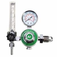 Argon CO2 Gas Mig Tig Flow Meter Welding Weld Regulator Gauge For Welder CGA580 Fits