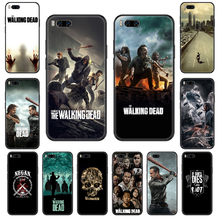 Movie The Walking Dead Phone case For Xiaomi Mi 6 8 9 A1 2 3 Mix3 Mix2 Mix2S X T Lite Pro black painting prime soft(China)