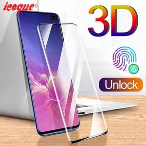 Image 1 - 3D закаленное стекло для samsung Galaxy Note 10 Plus 9 Note10 S10 Защитная пленка для экрана для samsung Note 10 Pro 9 8 S10 Plus S8 S9