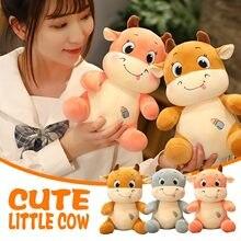 Bonito e quente vaca travesseiro sofá encosto brinquedos de pelúcia para crianças bonito vaca boneca travesseiros lavável juguetes bebes 0 a 12 meses q1
