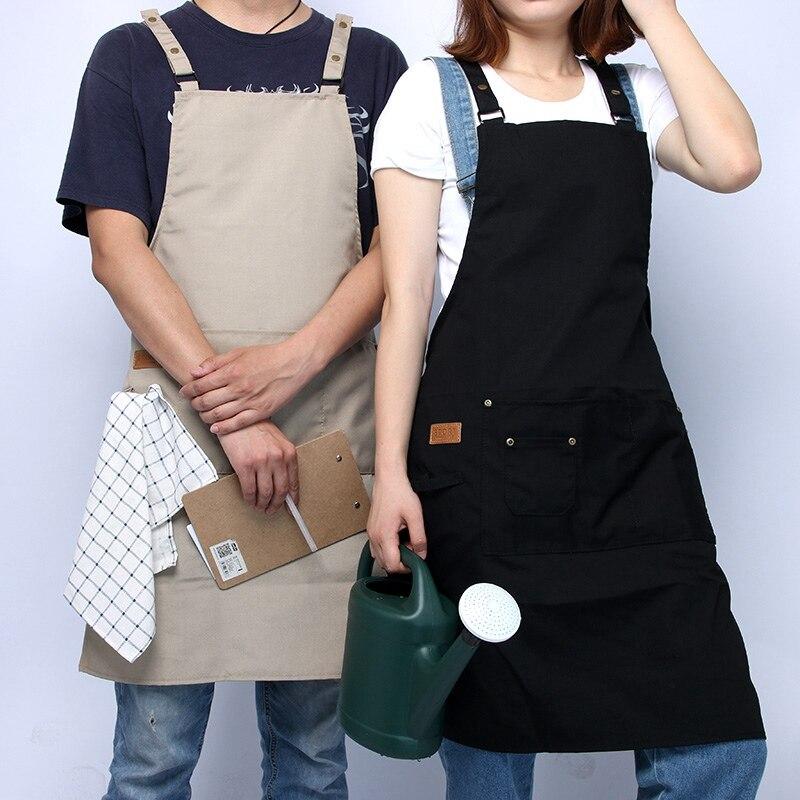 Unisex şef üniforma mutfak pişirme önlük kolsuz yemek servisi fırın aşçı aşınma şef ceketi restoran menü şarj istasyonu mutfak önlükleri