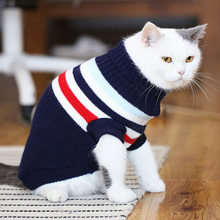 Winter Cat Sweater Pet Costume Warm Pet Clothes Cat Clothing for Cats Katten Kedi Giyim Mascotas Gato Pets Products for Animals(China)