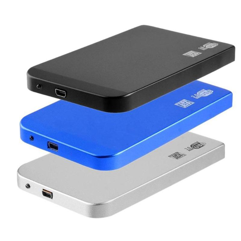 Portable 2.5 Inch Aluminum Alloy HDD Case SATA to USB 3.0 Mobile Hard Disk Box 5Gbps SSD Solid State Disk Enclosure for Windows