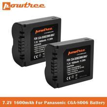 1 6Ah CGA-S006 Battery for Panasonic Lumix DMC-FZ7 DMC-FZ8 DMC-FZ18 DMC-FZ28 DMC-FZ30 DMC-FZ35 DMC-FZ38 DMC-FZ50 Digital Camera cheap powtree Standard Battery 1600mAh 7 2V Li-ion for Canon 7 2V Battery 2000mAh Replacement Batteries Batteries Only 1 year warranty