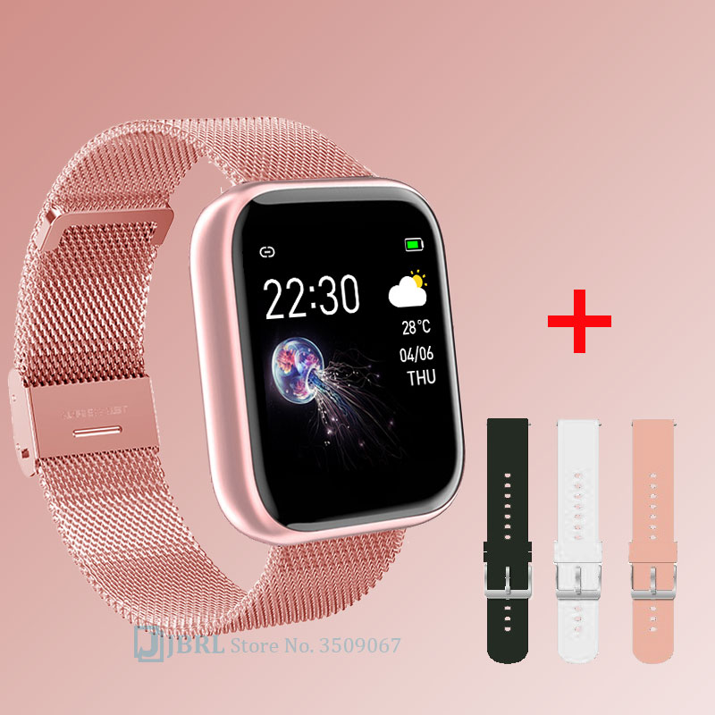 Sports Smart Watch Men Bluetooth Smartwatch Women Wristband for Android IOS Mens Fitness Bracelet Waterproof Smart Clock Ladies