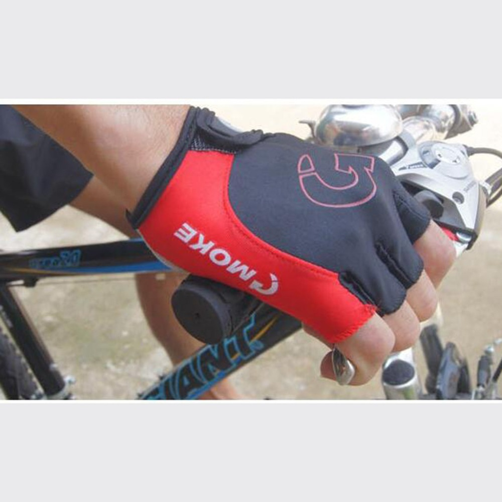 Cycling gloves male half finger bicycle gloves summer mountain bike gloves outdoor riding equipment gloves gel half finger 30N18 (12)