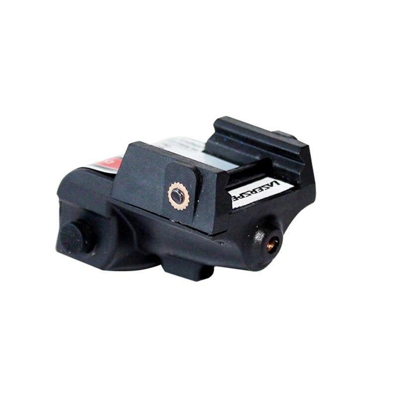 Laserspeed Mini Green Laser Sight Tactical Glock Accessories Beretta 92 Air Rifle Mira Laser Red 9mm Gun Sight for Shooting-5