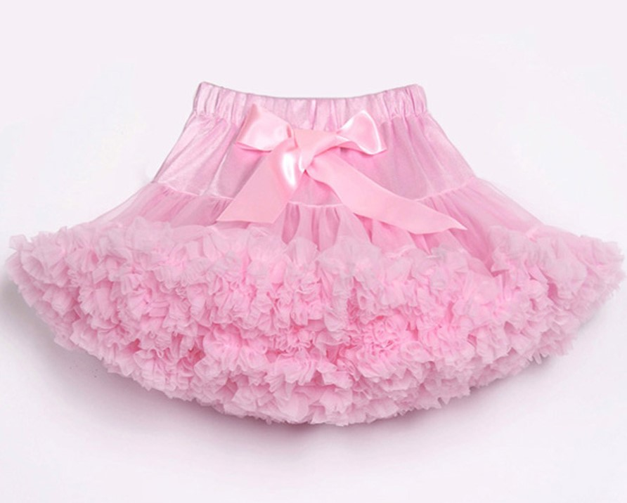Юбка-американка для девочек; праздничная одежда на Хэллоуин; оранжевые юбки-пачки для маленьких девочек; пышная юбка-пачка для девочек; Одежда для девочек - Цвет: Розовый