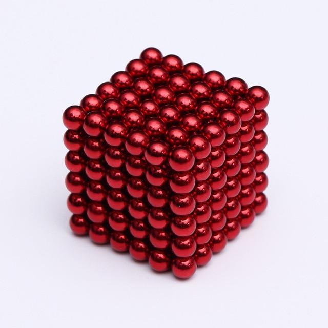 2019 216Pcs/set 3mm Magic Magnet PUZZLE Cube Magnetic Blocks Balls NEO Sphere Beads Building Toys DIY D3 Sphere Neodymium 2