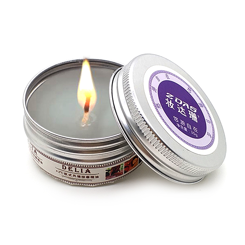 30g Low temperature solid oil fun candles aromatherapy candles massage candles flirting lighting aphrodisiac rose queen excited