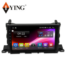 IYING Android système 8 Core Autoradio pour Toyota Highlander Kluger 2015-2019 Autoradio voiture lecteur multimédia GPS FM auto Radio(China)