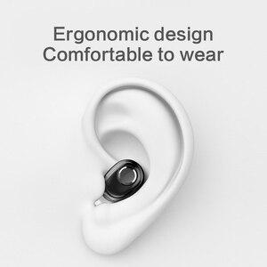 Image 4 - L15 سماعات بلوتوث سماعات أذن صغيرة داخلية سمّاعات رأس لاسلكية مانعة للضوضاء سماعات صوت أصغر سماعة أذن