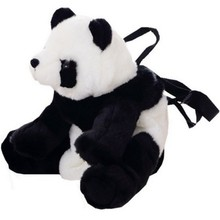2019 Cartoon Panda Plush Baby Backpack Primary School Girls Bags Kids Backpack Children School Cute Bag Fashion Baby Girl Bag недорого