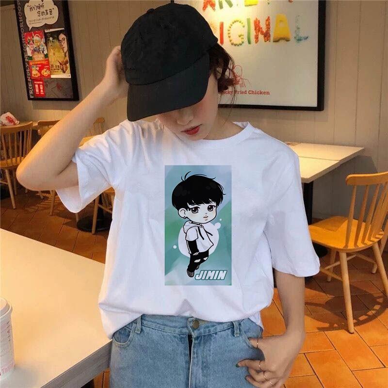 Модная комиксная футболка для мальчиков женская с милым принтом