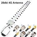 28dbi 4G антенна Yagi антенна fm антенн LTE TS9 MCX N Мужской N женский TNOutdoor направленного бустерный усилитель-модем RG58 1,5 м