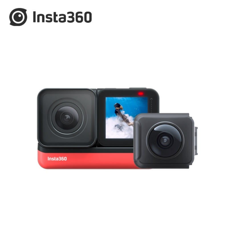 В наличии Insta360 ONE R 2020 новая спортивная экшн-видеокамера Twin Edition 360 4K 1 дюйм Leica Edition широкоугольная Водонепроницаемая камера