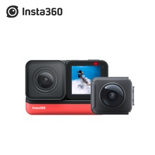 في المخزون Insta360 واحد R 2020 جديد الرياضة عمل كاميرا فيديو التوأم الطبعة 360 4K 1 بوصة لايكا الطبعة زاوية واسعة كاميرا مقاومة للماء