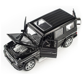 1:32 Alloy Diecast Car Suv Model  G65 GTR Car Toys Pull Back Vehicle with Sound Light Gift Collection For Children Boy 1 32 bmw m8 modified racing car with sound and light children s alloy toy car model collection gift pull back vehicle