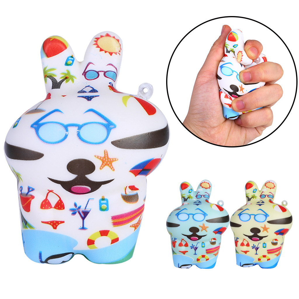 Squishy Kawaii Gigantes Doll Squeeze Toys Squishy 3Pcs Mini Adorable Doll Slow Rising Kids Stress Reliever Decompression ToyW725