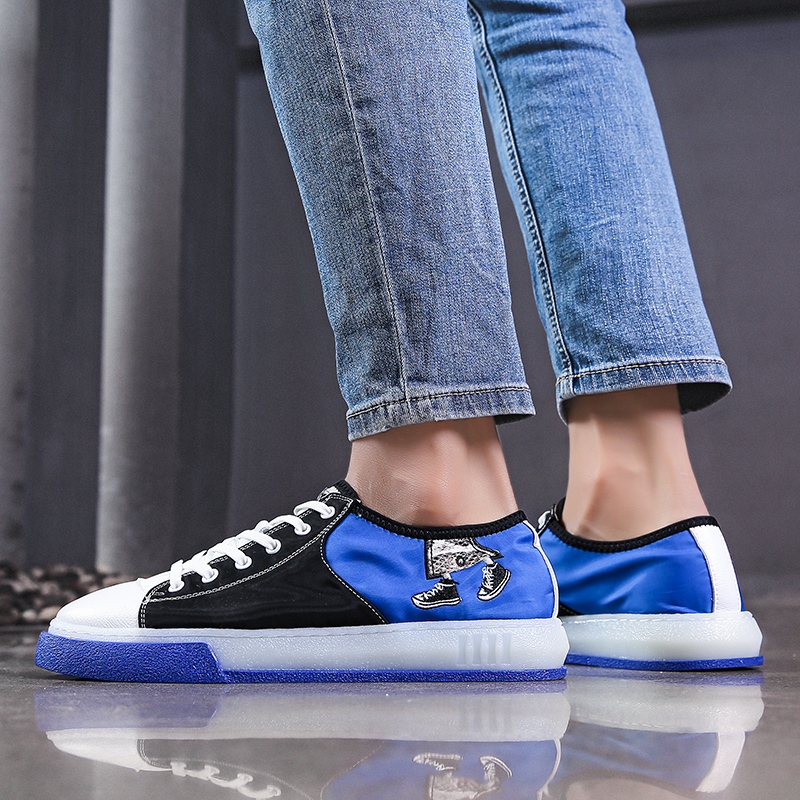 BVNOBET Luxury Brand Casual Shoes Men Brand Shoes Breathable Summer Flats Skateboarding Shoes Footwear Basket Homme Chaussure in Men 39 s Casual Shoes from Shoes