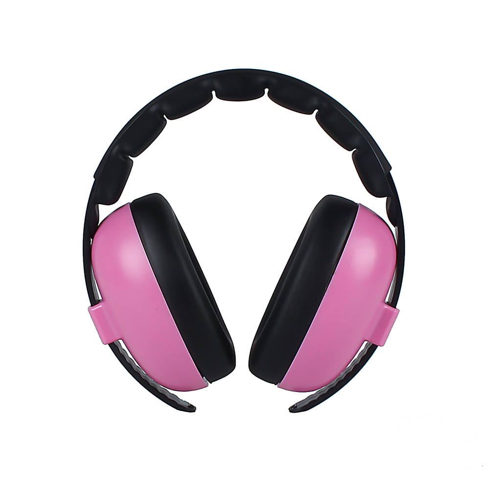 Baby Kids Adjustable Headband Outdoor Noise Canceling Boys Girls Padded Ear Protection Wireless Headphone Soft Earmuff Home Gift
