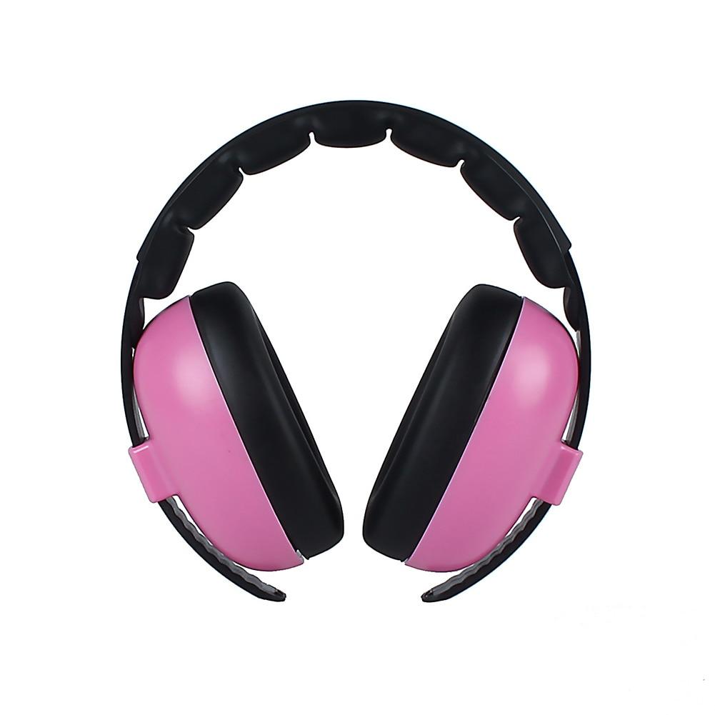 Baby Kids Adjustable Headband Outdoor Noise Canceling Boys Girls Padded Ear Protection Wireless Headphone Soft Earmuff Home Gift