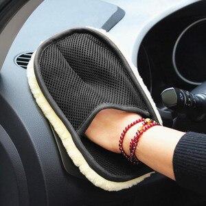 Image 5 - 2020 auto Waschen Handschuhe Reinigung Pinsel Auto Styling für Toyota Camry Highlander RAV4 Crown Reiz Corolla Vios Yaris