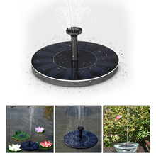 Solar Pump Floating Water Fountain for Bird Bath Pond Garden Pool Decor 7V/1.4W Solar Panel Water Pump Kit dropshipping