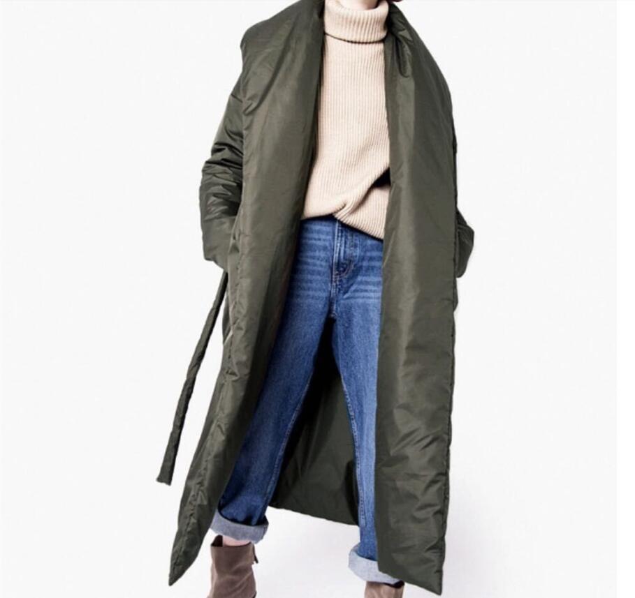 Jacket Coat Long-Parka Fluff Water-Proof Warm Female Women Winter Stylish Outerware Thick