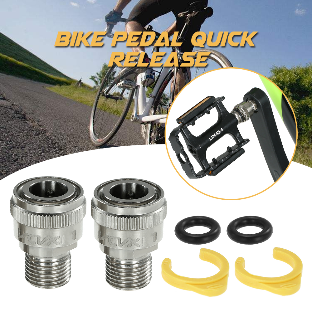 Bike Bicycle Bearing Screw Pedal Extenders for 916 Inch Spacers Cranksets