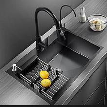 Sink German 304-Stainless-Steel Nano Black Domestic Single