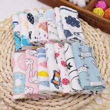 5 шт/компл детские полотенца для кормящих мам милый мультяшный