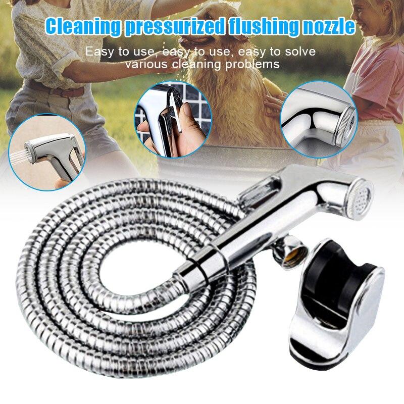 Bathroom Personal Hygiene Bidet Shower Handheld Bidet Sprayer Premium Hand-held Cloth Diaper Sprayer Set  DC120