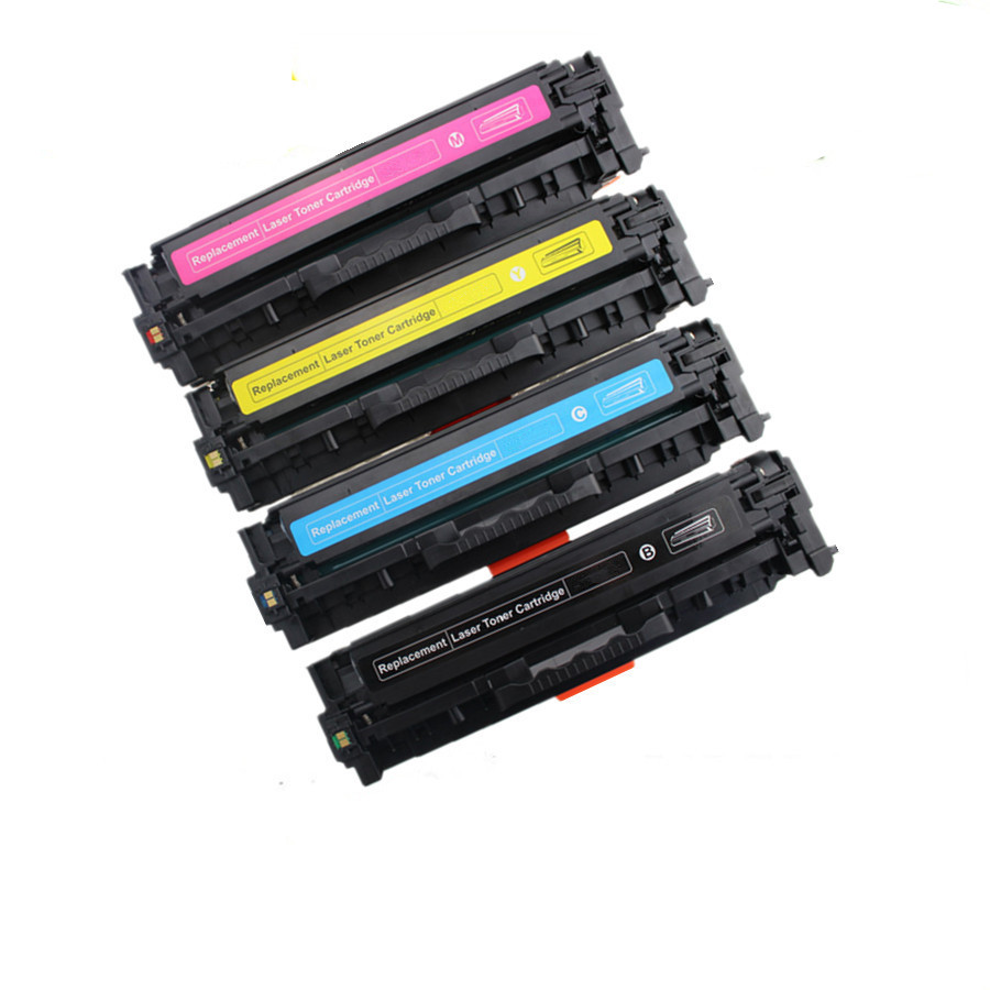 Cartouche De Toner couleur Remplacement CE410A CE411A CE412A CE413A 305A 300 MFP-M475dw MFPM375nw MFPM475dn MFPM475dw Imprimante Laser