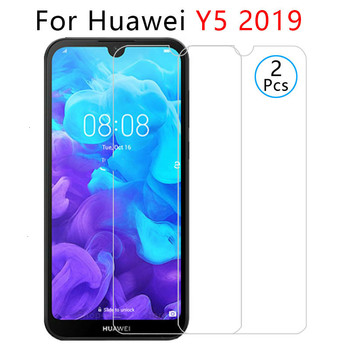 case for huawei y5 2019 case on y52019 y 5 5y y5 prime pro 2019 back cover cases protective phone coque tempered glass 5.71 image