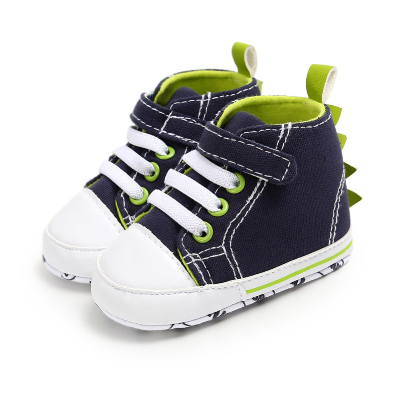 Dinosaur Baby Shoes Autumn Boy Shoes Casual Sneakers Newborn Baby  Toddler First Walkers Soft Soled Anti-Slip Sneakers