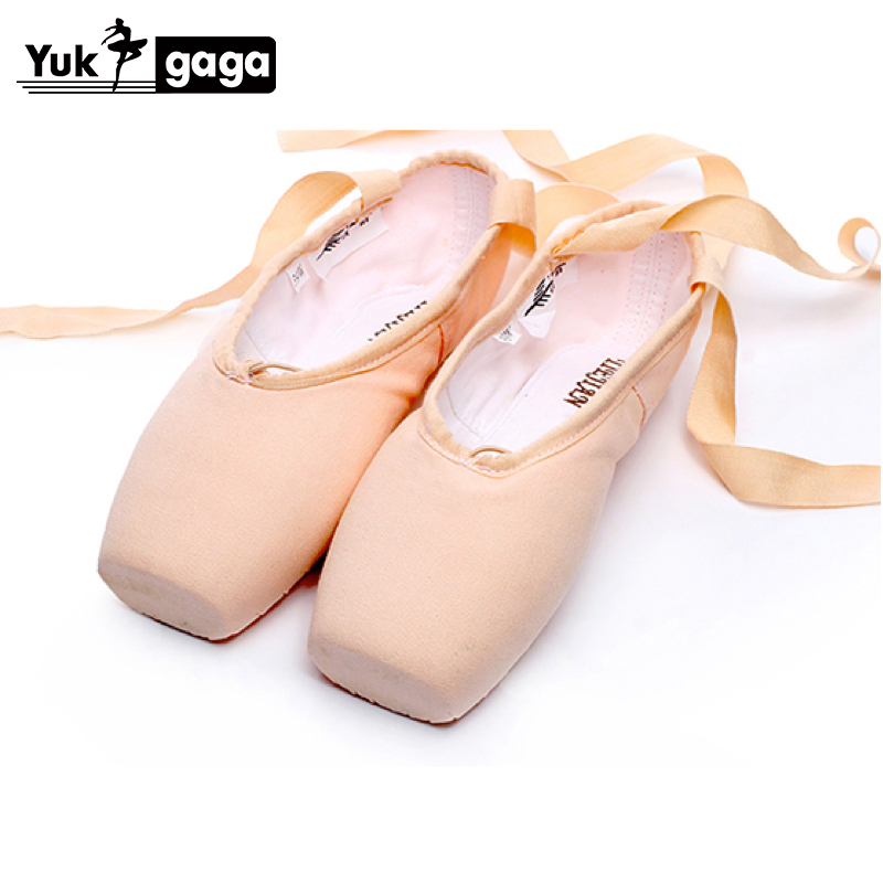 Yukigaga Brand Pointe Ballet Shoes Girl 2019 Professional Ballet Shoes Women Dance Shoes Rose Toe Pads Zapatillas Ballet A06d