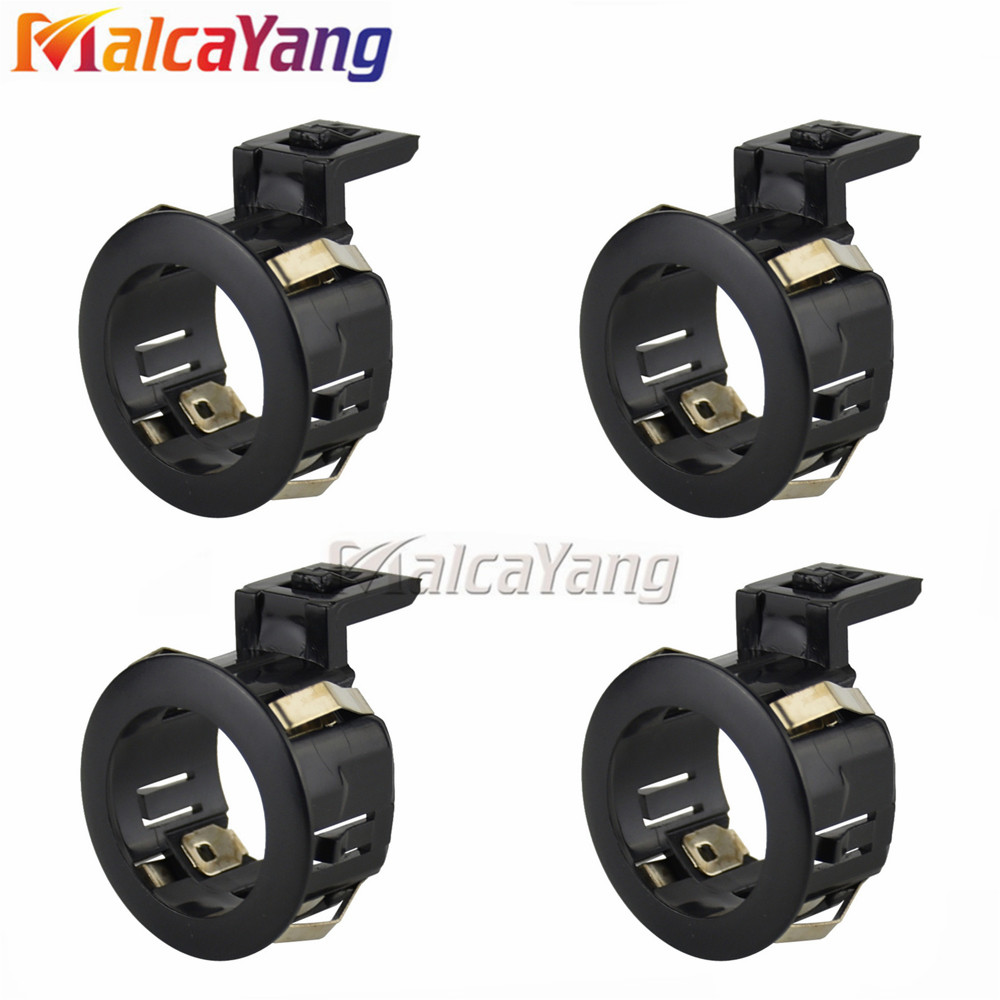 4pcs 89348-33030-C0 89348-33030 Black Color Parking Sensor Retainer For TOYOTA CAMRY COROLLA FJ CRUISER
