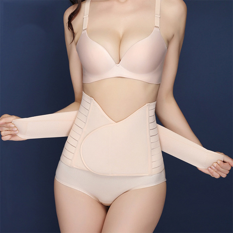 Postpartum Belt Body Recovery Shapewear Belly Slim Waist Cinchers Breathable Waist Trainer Corset After Pregnancy Belt