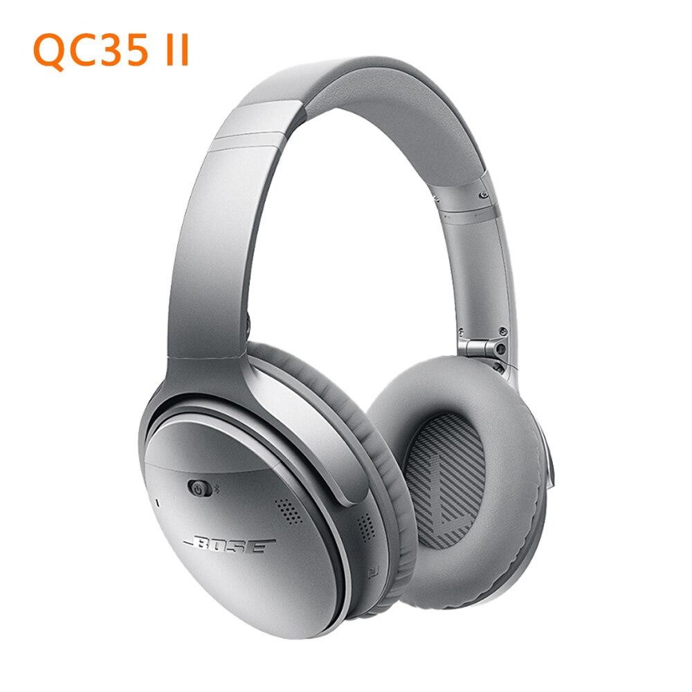 Беспроводные Bluetooth-наушники QC35 II QuietComfort 35 II ANC, TWS-гарнитура с шумоподавлением, спортивные наушники Ae2 Qc15 Qc30