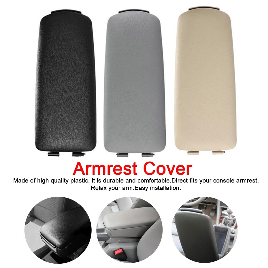 Car Armrest Center Console Lid Cover Fit Audi A4 B6//7 Black 8E0864245E 2002~07