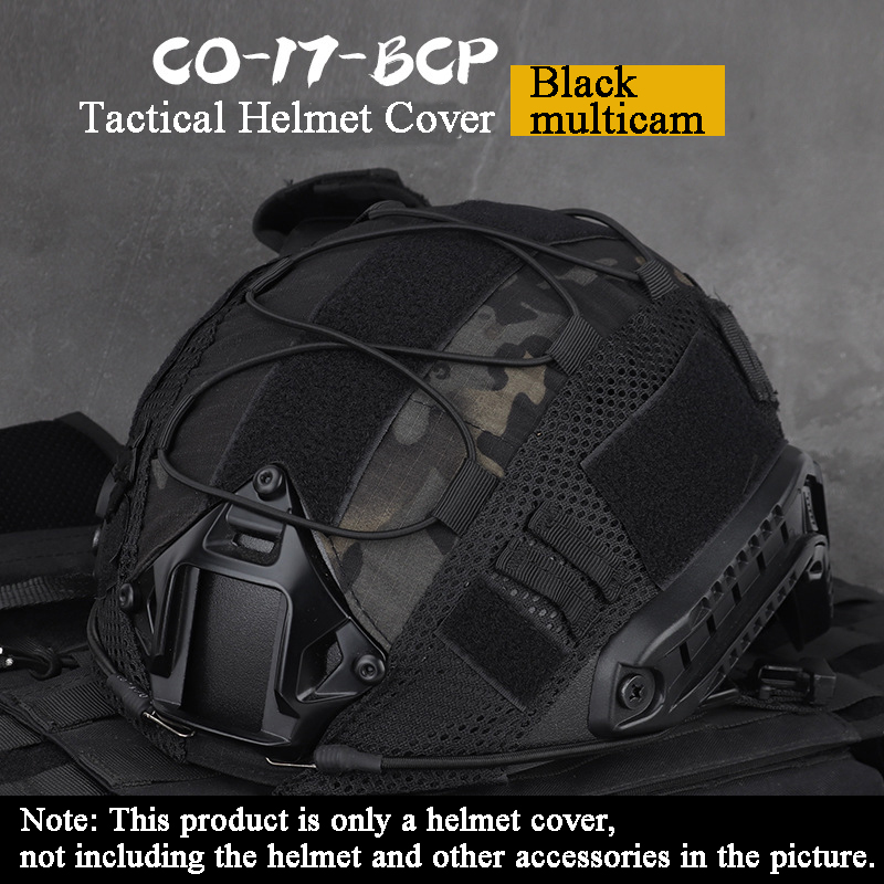 Military Tactical Fast Helmet Cover Durable Airsoft Paintball Accessories Hunting Shooting Helmet Covers Combat Cs Helmets Cover