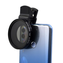 KnightX 37มม.52มม.58มม.โทรศัพท์มือถือกล้องเลนส์คลิปโทรศัพท์กรอง CPL ND Star Universal คลิปโพลาไรซ์อุปกรณ์เสริม