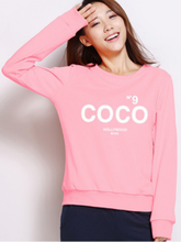 The New CoCo Korean Style Oversize Instagram Fashion O-neck Cotton Hoodie Autumn Women Casual Clothing Plus Size Streetwear 2019